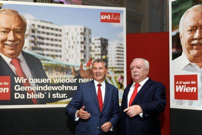 Bleibt die SPÖ bei der WIen-Wahl vorne?