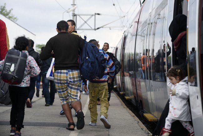 Fast alle Flüchtlinge sind in Österreich nur auf Durchreise.