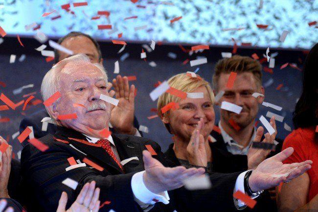 Die SPÖ in Wien geht zuversichtlich in die Wahl am 11. Oktober 2015.