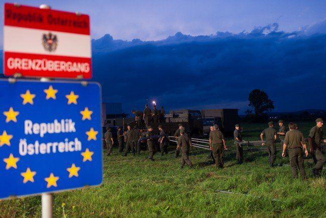 Österreichs Bundesheer an der Grenze
