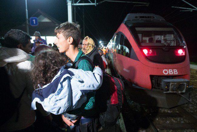 Die Mehrheit der Österreicher hat Angst vor dem Flüchtlingsstrom.