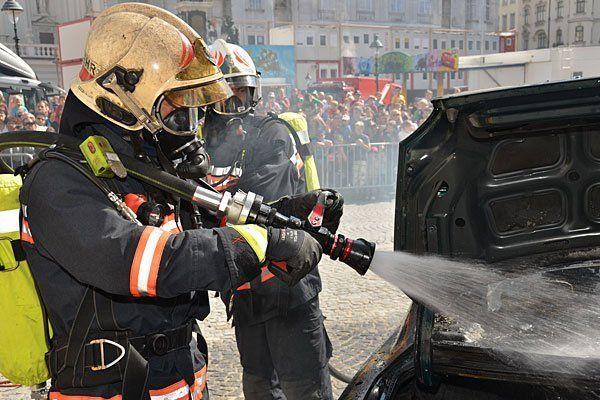 Actionreich ist das Programm beim Wiener Feuerwehrfest