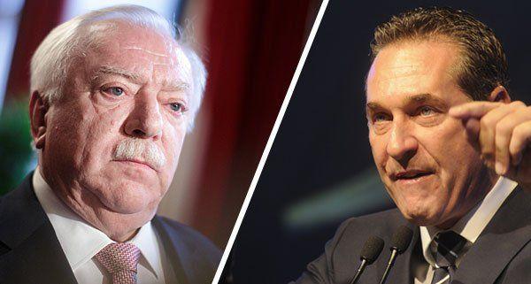 Das Duell zwischen Bürgermeister Michael Häupl (SPÖ) und FPÖ-Chef Heinz-Christian Strache soll sich noch verschärfen