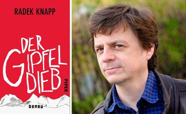 """Rade Knapps Roman """"Der Gipfeldieb"""" spielt in Wien"""