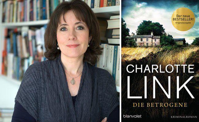 """Bestseller-Autorin Charlotte Link hat einen neuen Krimi geschrieben: """"Die Betrogene"""""""