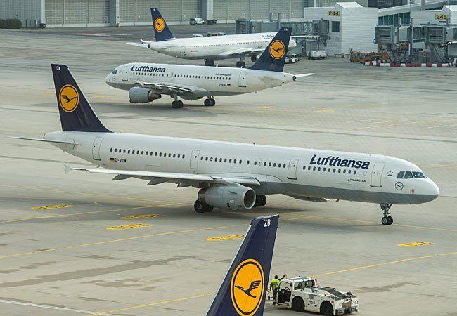 Durch den Lufthansa-Streik fallen auch Wien-Flüge aus