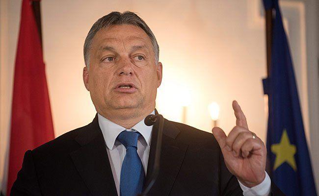 Ungarns Premier Viktor Orban kommt nach Wien