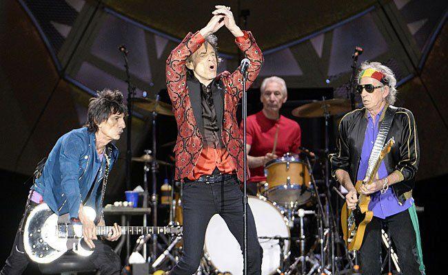Die Rolling Stones beim Wien-Konzert 2014