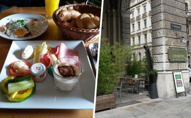 Wir haben das Frühstück im Cafe Einstein getestet.