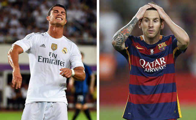 Cristiano Ronaldo und Lionel Messi sind noch ohne Ligator.