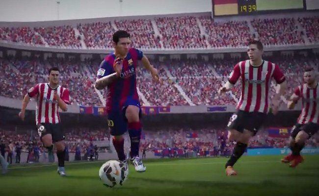 Lionel Messi spielt auch virtuell die Gegner schwindelig.