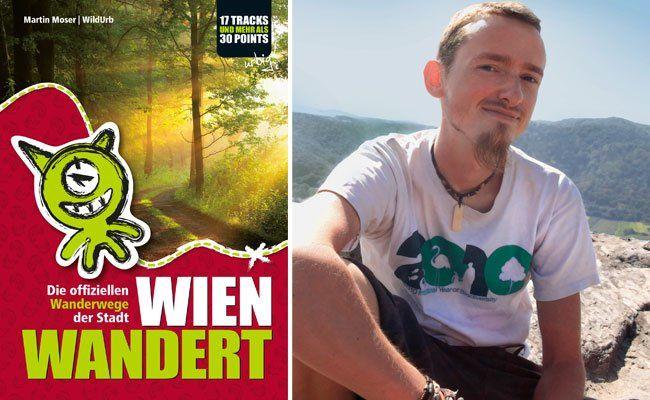 """Martin Moser und sein Buch """"Wien wandert"""""""