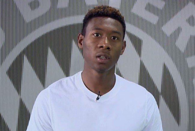David Alaba zeigt sein Gesicht gegen Rassismus.