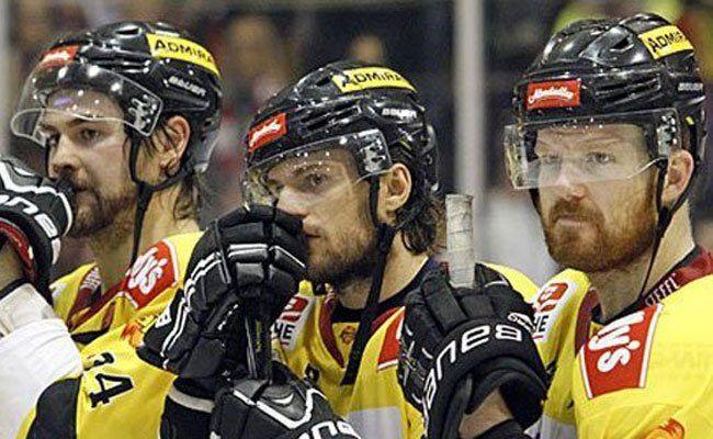 Niederlage für die Vienna Capitals am Dienstag.
