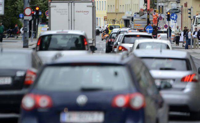 In Wien wird im Zuge der Großdemo Stau erwartet