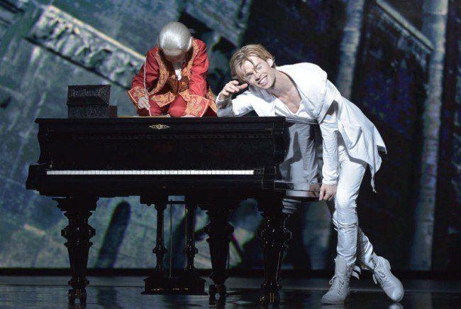 Besonders Hauptdarsteller Oedo Kuipers holte sich bei der Premiere in Wien den Applaus.