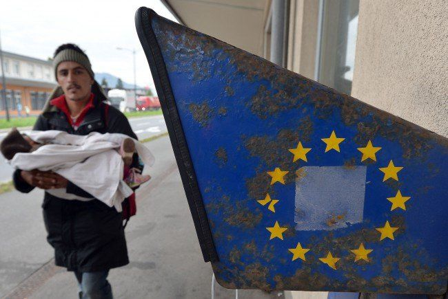 Die Situation in Europa rund um die Flüchtlinge bleibt chaotisch.
