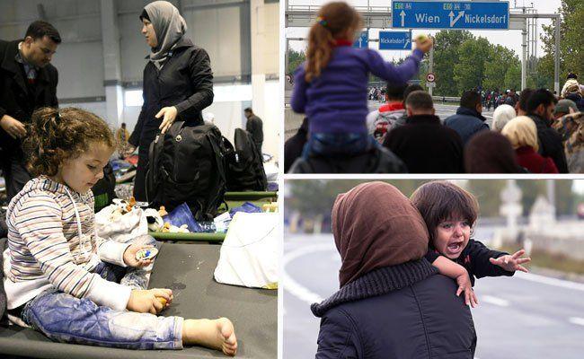 Flüchtlinge - Wien hat derzeit Notschlafplätze für 3.000 Menschen