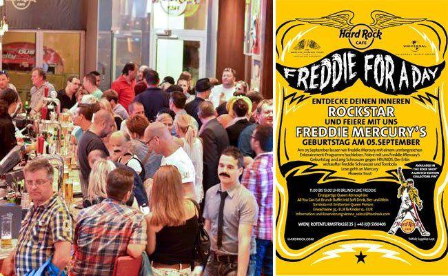 Auch in Wien wird zu Ehren Freddies gefeiert!