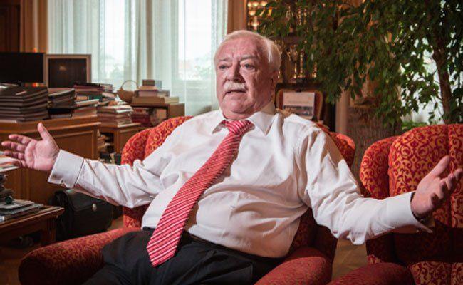 Bürgermeister Michael Häupl im Wien-Wahl-Interview.
