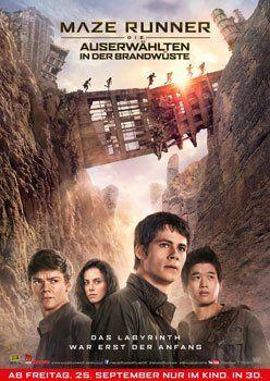 Maze Runner – Die Auserwählten in der Brandwüste – Trailer und Kritik zum Film