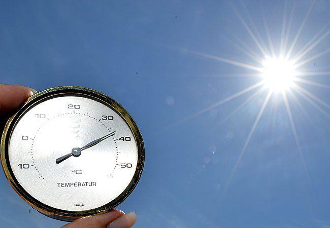 Das Thermometer kletterte zu September-Beginn heuer beständig nach oben
