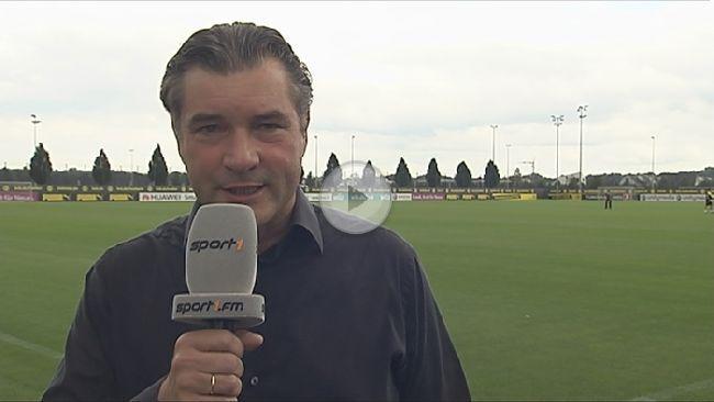 Sportdirektor Michael Zorc freut sich über das Leistungshoch des BVB.