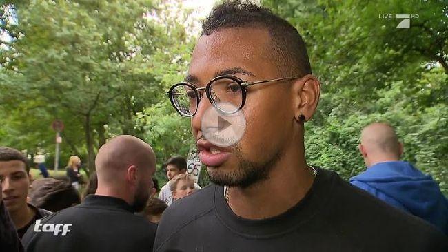 Jérôme Boateng sorgte in seiner Heimatstadt für Ausnahmezustand.