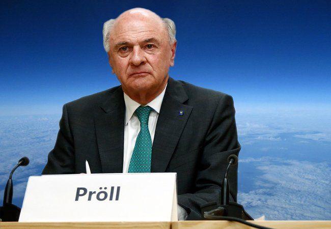 Erwin Pröll inszeniert Weltuntergang