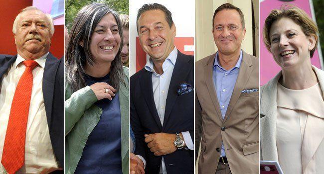 So stehen die Chancen für die Parteien bei der Wien-Wahl 2015.