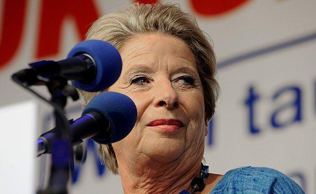 Ursula Stenzel lud am Donnerstag zu einer Pressekonferenz