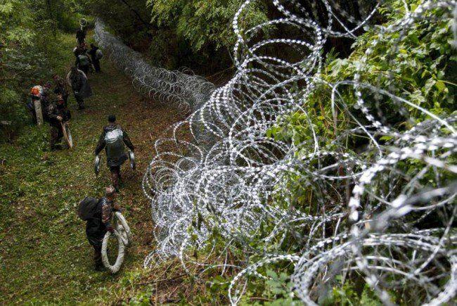 Der Zaun zwischen Ungarn und Slowenien kam wieder runter.