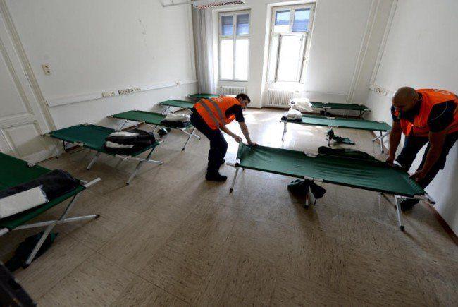 Die Zahl der Flüchtlinge, die in Wien untergebracht wurden, ging zurück.