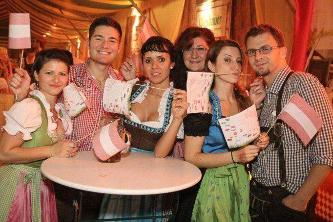 Die Stimmung am Wiener Wiesn Fest 2014.