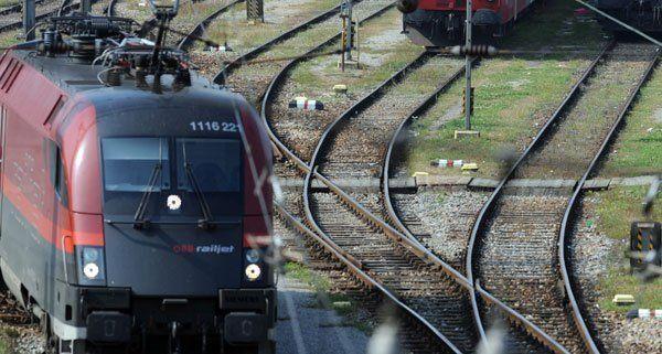 Unterbrechung auf der Südbahn