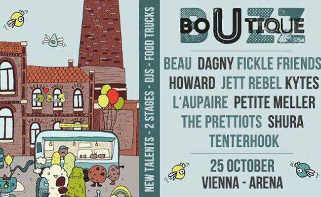"""Am Sonntag findet die erste """"Buzz Boutique"""" in der Wiener Arena statt."""