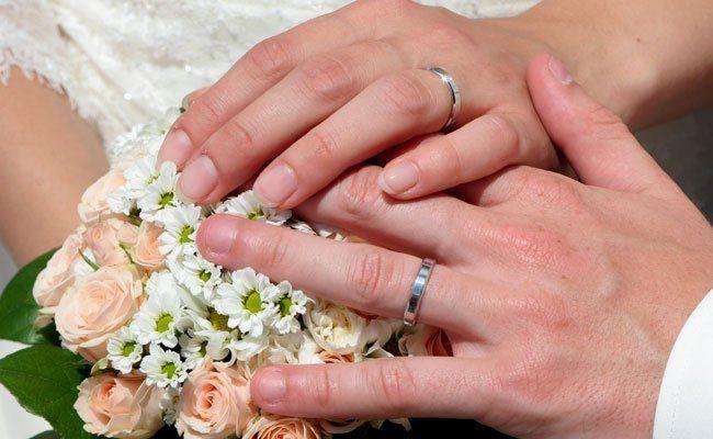 Die meisten Eheschließungen im ersten Halbjahr 2015 fanden in Wien statt.