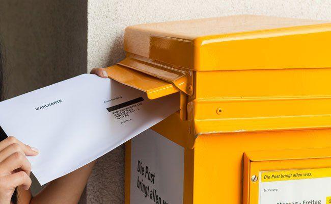 In Wien wurde ein Rekord an Wahlkarten-Anträgen aufgestellt.