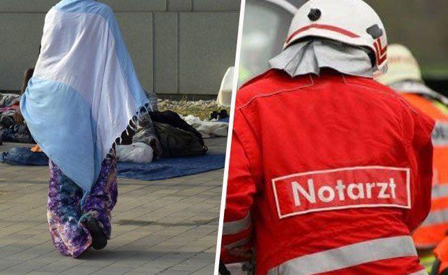 Flüchtlinge - Tödlicher Unfall vor Flüchtlingsquartier im Innviertel
