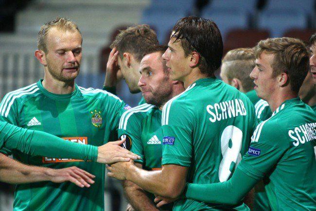 Rapid will im Europacup Wunden lecken.