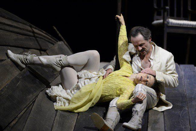 Wassa Schelesnowa im Burgtheater in Wien