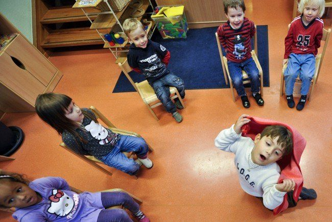 Im 15. Bezirk wurde ein neuen Kindergarten eröffnet.