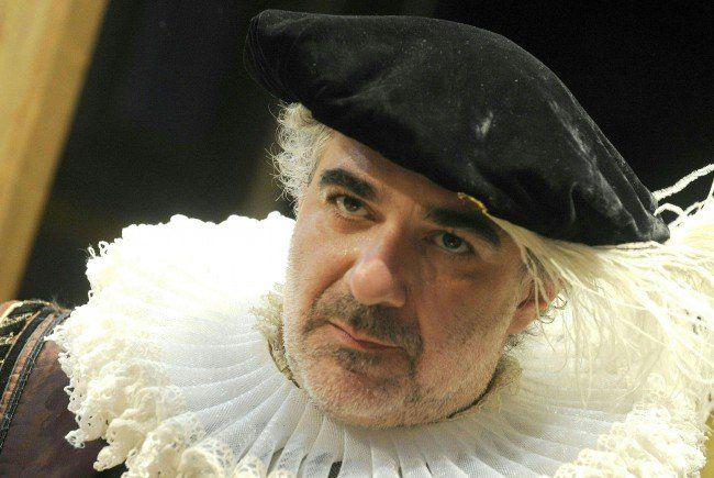 """Michael Niavarani gewann mit seiner Produktion """"Die unglaubliche Tragödie von Richard III""""."""