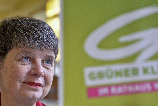 Die neue Grüne Bezirksvorsteherin Silvia Nossek