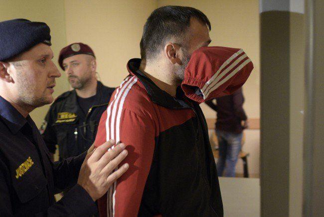 Beim Terror-Prozess in Wien.