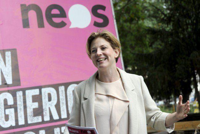 Beate Meinl-Reisinger will mit den NEOS den Einzug ins Rathaus schaffen.