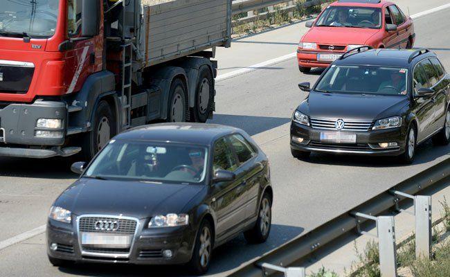 Ein Projekt der Asfinag soll die Fahrzeit von Wien zum Flughafen in Schwechat messen.