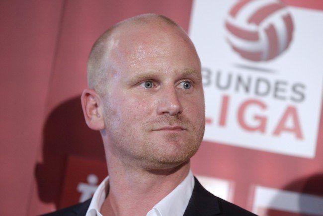 Bundesliga-Vorstand Christian Ebenbauer.