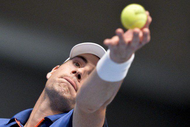 John Isner erreichte als Erster das Achtelfinale der Erste Bank Open in Wien.