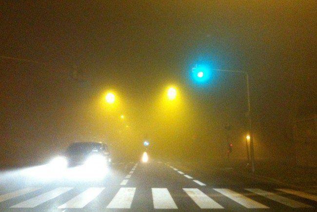 Der ARBÖ warnt vor Unfallgefahr im Nebel.